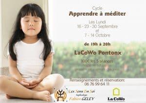 """Cycle """"Apprendre à méditer"""" @ LaCOWO - Landes COopération coWOrking"""